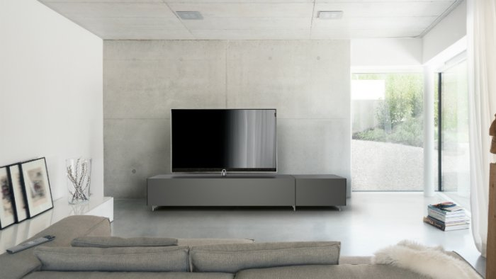 loewe und spectral zeigen tv m bel cetoday. Black Bedroom Furniture Sets. Home Design Ideas